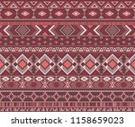 peruvian american indian... | Shutterstock .eps vector #1158659023