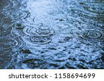 ripples of rain   Shutterstock . vector #1158694699