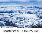 himalaya mountains landscape... | Shutterstock . vector #1158697759
