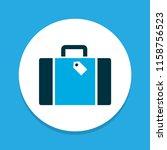 briefcase icon colored symbol.... | Shutterstock .eps vector #1158756523
