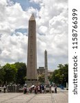 istanbul   june 18  obelisk of... | Shutterstock . vector #1158766399