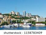 russia  vladivostok  august 16  ... | Shutterstock . vector #1158783409