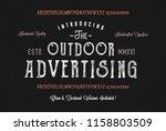 the outdoor advertising....   Shutterstock .eps vector #1158803509