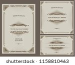 set of vector design collection ... | Shutterstock .eps vector #1158810463