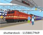 Indian Railway Station...
