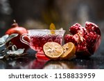 close up of herbal and organic... | Shutterstock . vector #1158833959