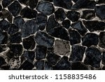 pattern and textured of black ... | Shutterstock . vector #1158835486