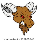 horror sheep mascot | Shutterstock .eps vector #115885240