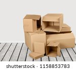 Lots Of Cardboard Boxes On...