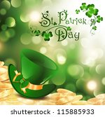 St.patrick Holiday Theme With...