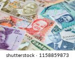 variety of the african banknotes | Shutterstock . vector #1158859873