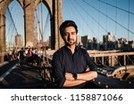 indian pakistanian guy model in ... | Shutterstock . vector #1158871066
