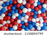 red white and blue decorative... | Shutterstock . vector #1158894799