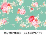 Seamless Cute Vintage Pattern...