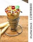 delicious cheese vegetarian... | Shutterstock . vector #1158908800