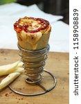 delicious cheese vegetarian... | Shutterstock . vector #1158908839