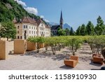 the square in the central part... | Shutterstock . vector #1158910930