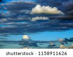 evening cloudscape for... | Shutterstock . vector #1158911626