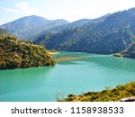 landscape of river beas near... | Shutterstock . vector #1158938533
