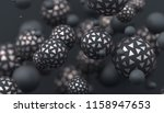 abstract 3d rendering of... | Shutterstock . vector #1158947653
