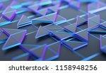 abstract 3d rendering of... | Shutterstock . vector #1158948256