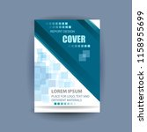 business cover or poster for... | Shutterstock .eps vector #1158955699