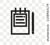address book vector icon... | Shutterstock .eps vector #1158965179