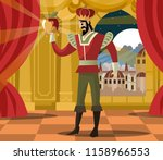 midas touch gold transformation | Shutterstock .eps vector #1158966553