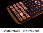 plus adding key of a scientific ... | Shutterstock . vector #1158967906