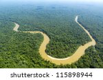 the cononaco river in the... | Shutterstock . vector #115898944