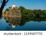 church in beauch  near leipzig  ... | Shutterstock . vector #1159007770