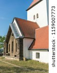 church in beauch  near leipzig  ... | Shutterstock . vector #1159007773