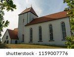 church in beauch  near leipzig  ... | Shutterstock . vector #1159007776