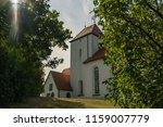 church in beauch  near leipzig  ... | Shutterstock . vector #1159007779