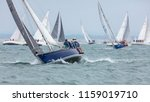 the solent  hampshire  uk  7th... | Shutterstock . vector #1159019710