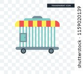 cage vector icon isolated on... | Shutterstock .eps vector #1159020139