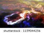 3d rendering of a landscape... | Shutterstock . vector #1159044256
