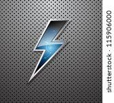 lightning bolt | Shutterstock .eps vector #115906000