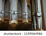 organ  keyboard instrument of... | Shutterstock . vector #1159064986