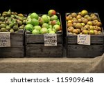 Fresh Organic Apples And Pears...