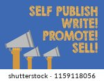 writing note showing self... | Shutterstock . vector #1159118056
