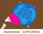 conceptual hand writing showing ... | Shutterstock . vector #1159120420