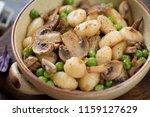 closeup of italian potato...   Shutterstock . vector #1159127629