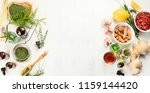 alternative medicine concept.... | Shutterstock . vector #1159144420