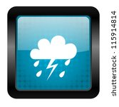 weather icon | Shutterstock . vector #115914814
