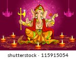 vector illustration of lord... | Shutterstock .eps vector #115915054