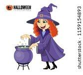 cartoon illustration of... | Shutterstock .eps vector #1159154893