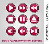 music player navigation buttons