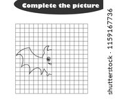 complete the picture  black... | Shutterstock .eps vector #1159167736