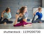 active sportive caucasian...   Shutterstock . vector #1159200730